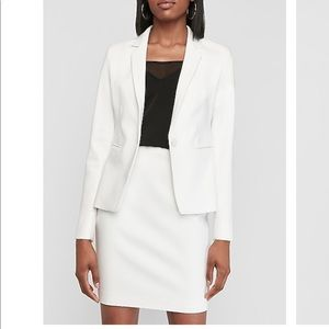White blazer *COMPLETELY NEW WITH TAGS*